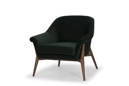 Pleasing Amazon Com Nuevo Charlize Occasional Chair In Emerald Green Creativecarmelina Interior Chair Design Creativecarmelinacom