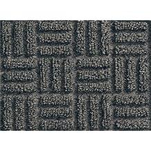 Andersen 265 Waterhog Masterpiece Select Polypropylene Fiber Entrance Indoor Floor Mat, SBR Rubber Backing, 12-Feet Length X 4-Feet Width, 3/8-Inch Thick, Pewter