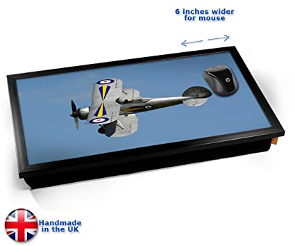 Gladiator Gloster Plane Cushion Laptop Tray Cojín Bandeja para Portátil