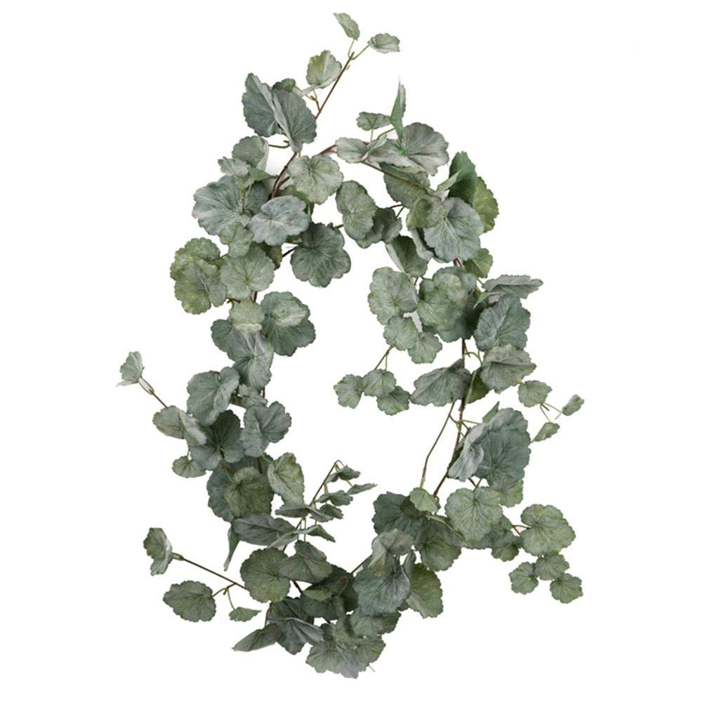 Hanging Vines Ivy Garland Jungle Theme Party Supplies Artificial Greenery Eucalyptus Garland Leaf Garland Willow Leaf Artificial Ivy Leaf Plants Vine Hanging Garland Fake Foliage Flowers Home Kitchen Shengruhua
