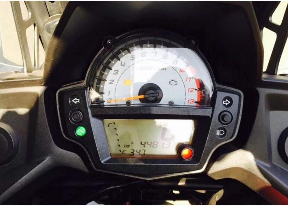 Fastpro Motorrad Cluster Tachometer Kratzschutz Folie Displayschutzfolie Kilometerzähler Instrument Tachometer Cluster Für Versys 65 2016 2017 Auto