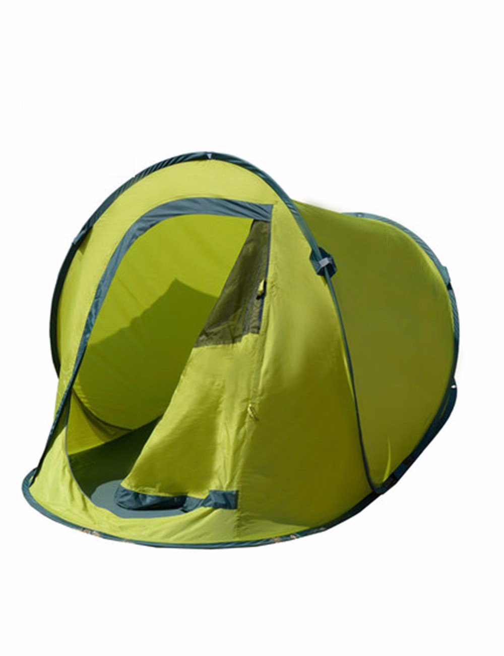 SJQKA-Camping Zelt Camping Freizeit Travel Kit Double Regen die Hände frei zu bauen Gaming Gehäuse Achtung Geschwindigkeit im Freien