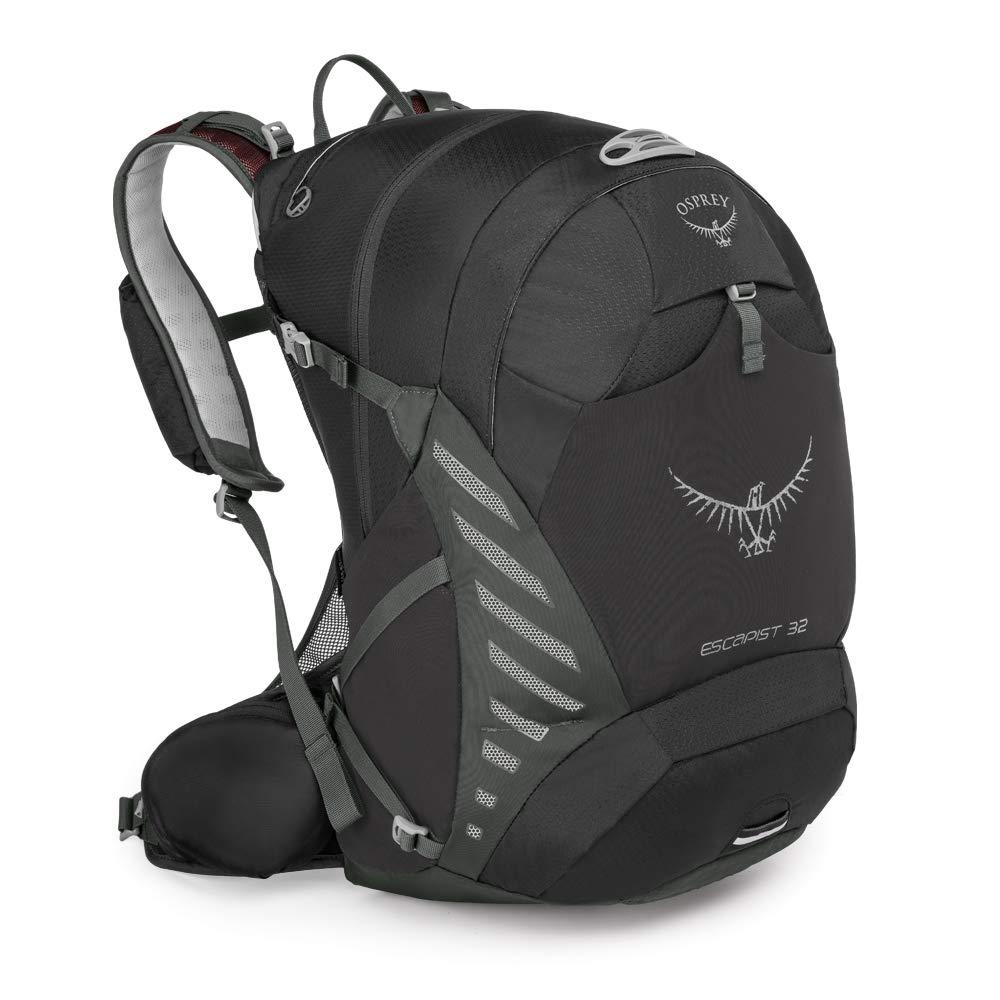 S//M Black Osprey Escapist 32 Mens Multi-Sport Pack