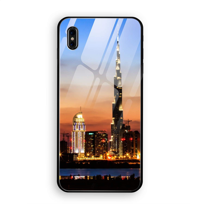Amazon Com Iphone X Case Dubai Burj Khalifa Slim Fit Clear