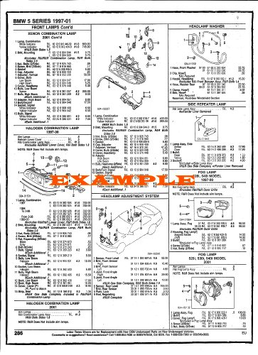 2005 - 2009 DODGE DAKOTA PART NUMBERS, LABOR & PRICE ILLUSTRATED SHEETS