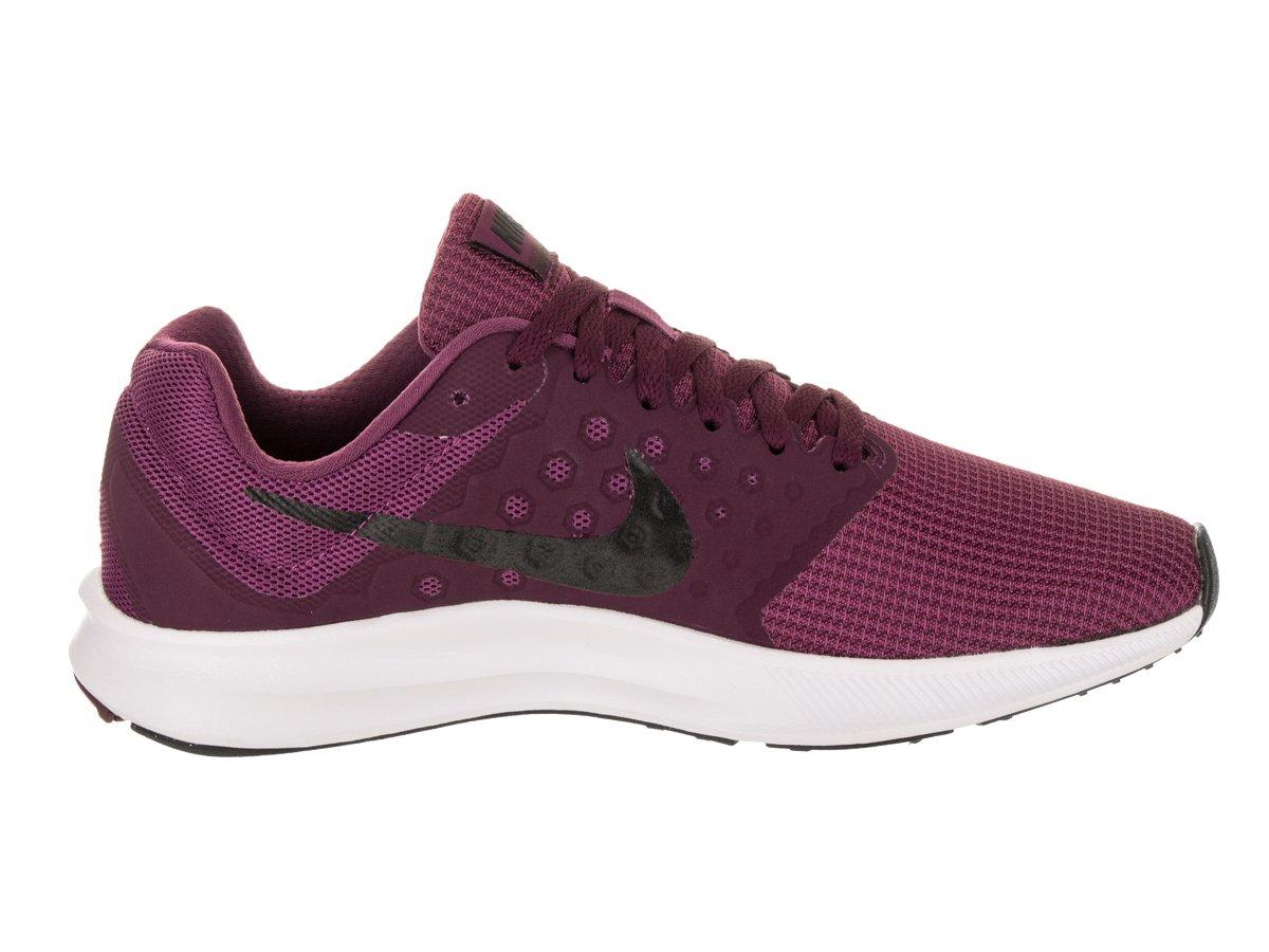 Amazon.com: Nike Womens Downshifter 7 Tea Berry/Black Bordeaux White Running  Shoe 8 Women US: Sports & Outdoors