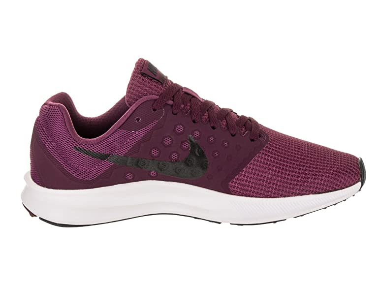 Amazon.com | Nike Women's Downshifter 7 Tea Berry/Black Bordeaux White  Running Shoe 7.5 Women US | Road Running