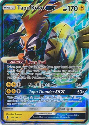 Tapu Koko-GX - 47/145 - Ultra Rare - Sun & Moon: Guardians Rising