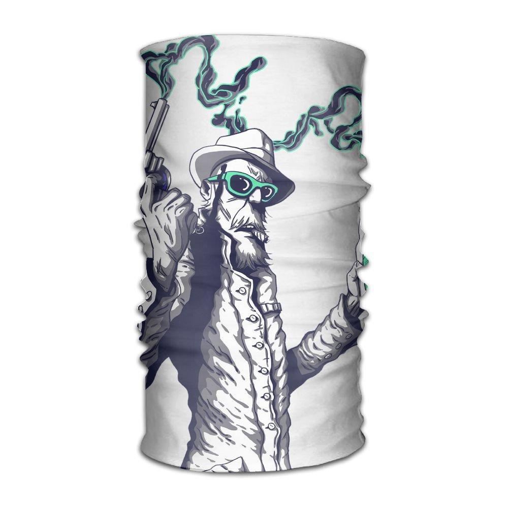 Owen Pullman Multifunctional Headwear Cowboy Gum Head Wrap Elastic Turban Sport Headband Outdoor Sweatband