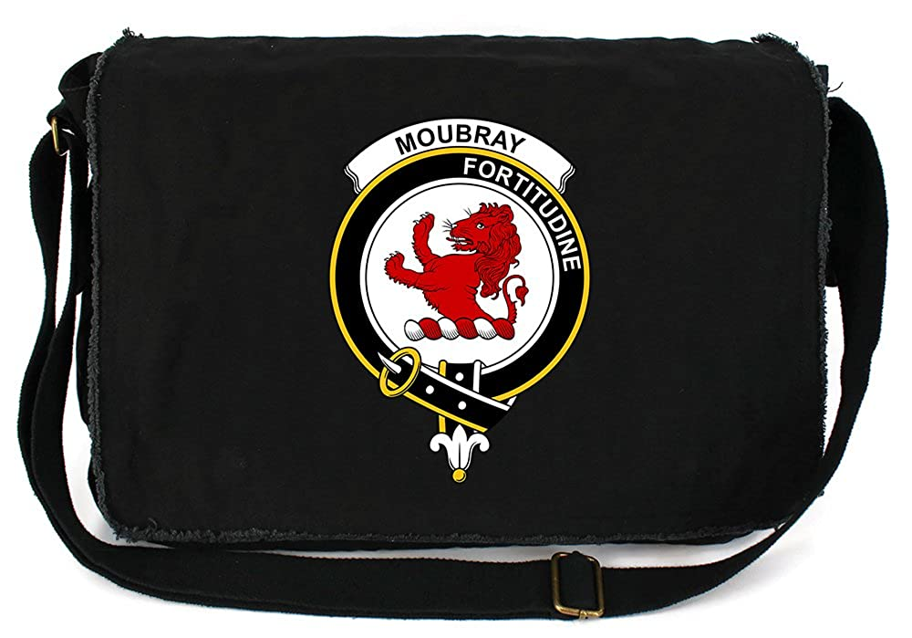 Tenacitee APPAREL ユニセックスアダルト B07F196KXM Messenger Bag - Black One Size