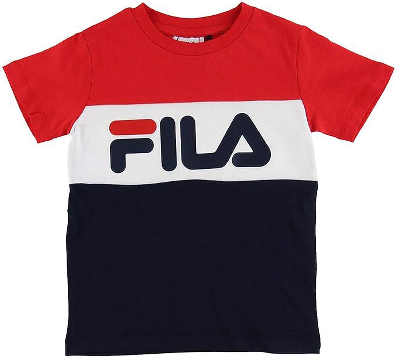 Fila Kids Classic Day Blocked tee, Camiseta: Amazon.es: Ropa y accesorios