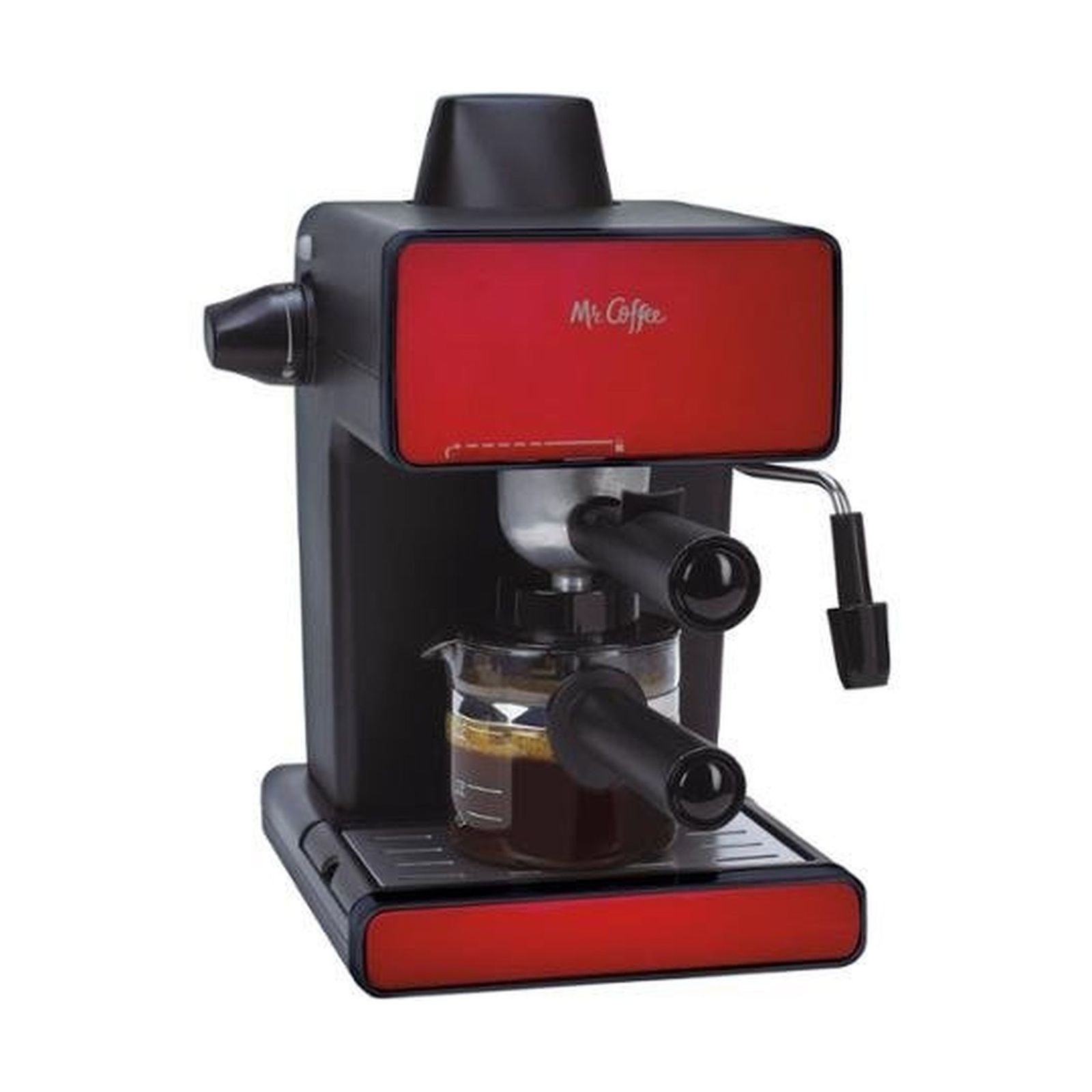 Mr. Coffee Espresso Maker, BVMC-ECM260R, Red by Mr. Coffee