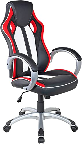 Giantex Executive Racing Style Chair High Back Office Chair Bucket