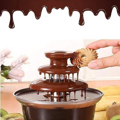 Mini fuente de chocolate - Fuente de chocolate de 65 vatios con máquina eléctrica de 3