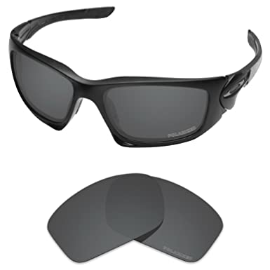 44e1194c87 Tintart Performance Lenses Compatible with Oakley Scalpel Polarized  Etched-Carbon Black