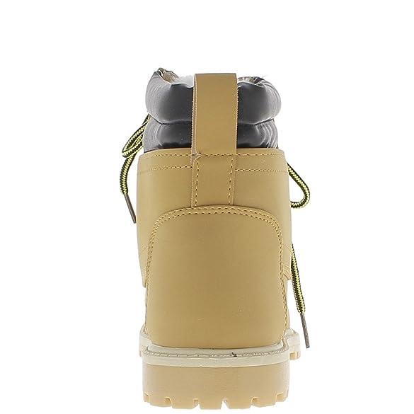 Relleno de botas Camel con tacón de 2,5 cm con crampones único - 37