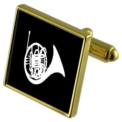 Orquesta de música francés Cuerno de Oro Gemelos de Tono Crystal ...