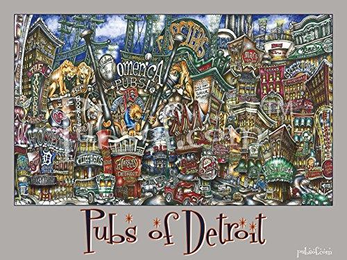 pubsOf Detroit Mi Poster