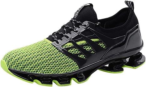 Xinxinyu Hombres Zapatos Correr Ocasionales | Trotar Zapatillas Deportivas Transpirables con Cordones | Antideslizante Calzado Deportivo Colchón de Aire Sneakers: Amazon.es: Relojes