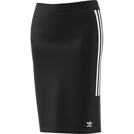adidas Falda 3 Stripes Slim Tubo Negra (34): Amazon.es: Ropa y ...