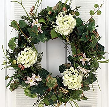 front page wreaths summer wreath door blog title stonegable