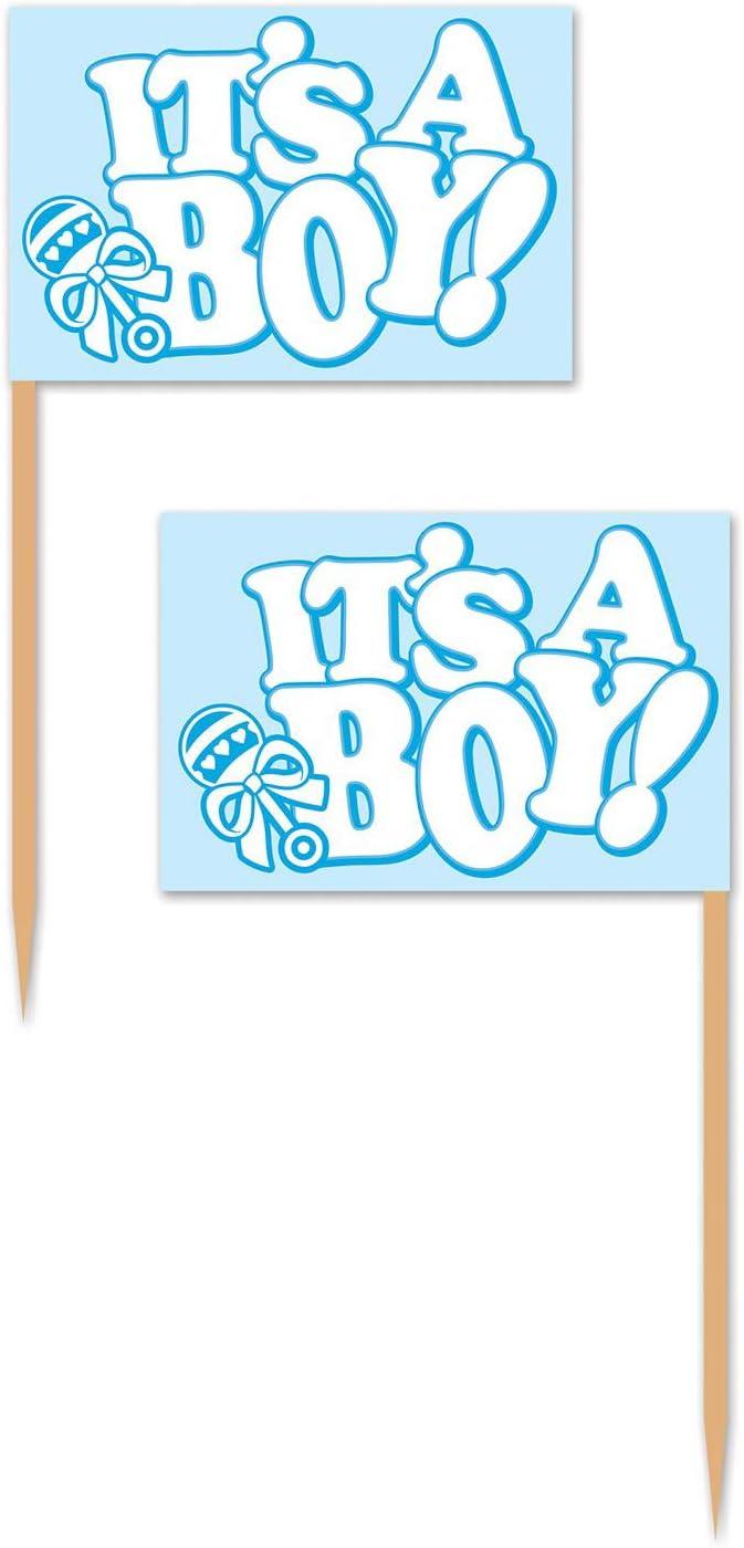 Beistle It's A Boy! Picks, 2.5