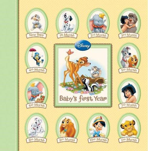 Disney Memory Keeper Album: Baby's First Year 24 Pocketfuls of Memories Book (Disney Photo Album 2011)