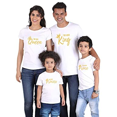 24260b069f2d8 Family Matching Clothes Outfits Look Father Mother Daughter Son ...