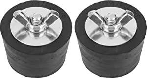 Winterizing Plug, 2pcs Rubber 1.5in Winterizing Expansion Plug Winter Fittings for Pipe Plugs Plug Skimmers
