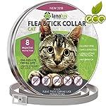 Lanalux Flea Collar - Flea Tick Prevention Cats One Size Fits All - Flea Co..