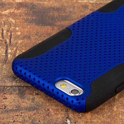 """MPERO FUSION M Series Schutz Case Hülle Tasche für Apple iPhone 6 4.7"""" - Blau"""