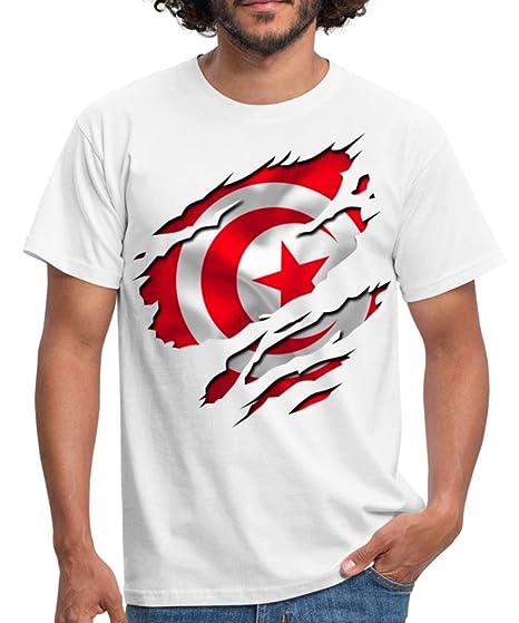Spreadshirt Drapeau De La Tunisie T-Shirt