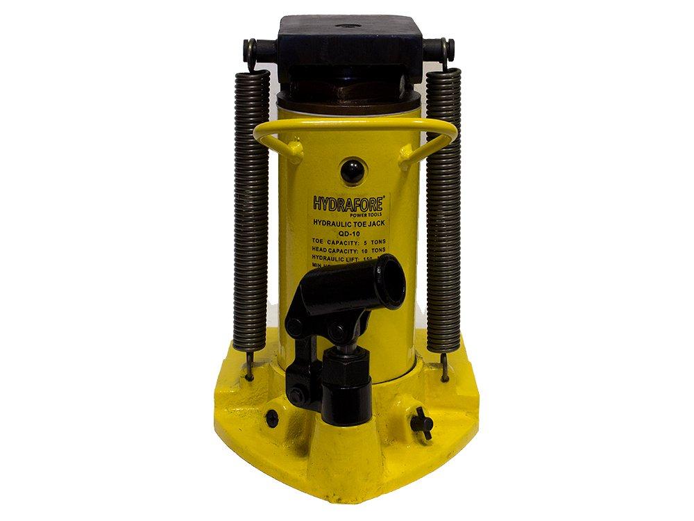 10 Ton Hydraulic Toe Jack Ram Machine Lift Cylinder QD-10 by HYDRAFORE (Image #5)