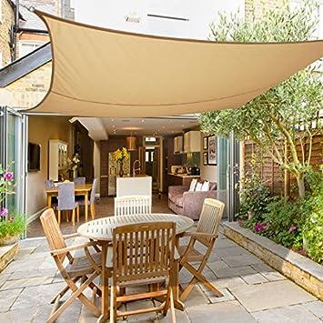 Greenbay Sun Shade Sail Outdoor Garden Patio Yard Party Sunscreen Awning  Canopy 98% UV Block