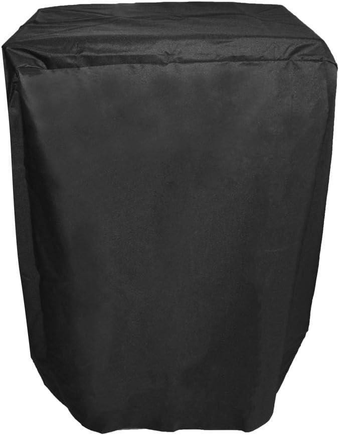 Onlyfire - Cubierta de la parrilla Funda de Gas para Barbacoa Tepro Toronto, Color Negro
