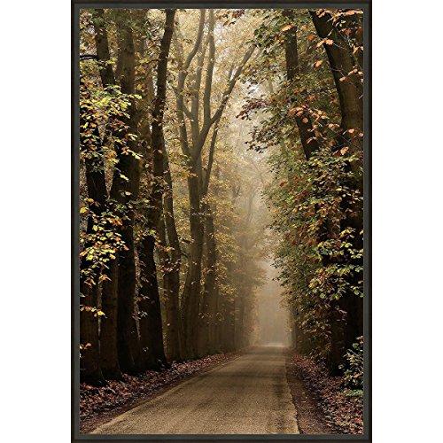 BLACK FOREST DECOR Foliage Framed Canvas