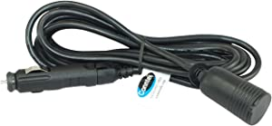Conntek RL-13210-10 DC 12-volt 10-Feet Extension Cord with 10-Amp Fused Cigarette Lighter Plug