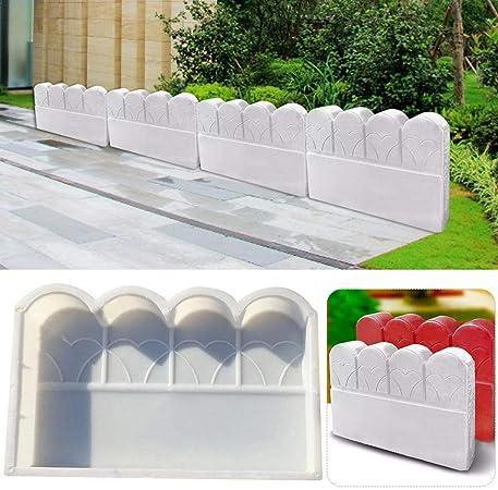 Recinzioni Per Giardino In Cemento.Stampo Cemento Mattoni Per Esterno Piscina Di Fiori Mattone Stampo