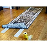 Optimum Technologies Lok Lift Rug Gripper for Runners, 4 Inch by 25 Feet. The original slip resistant rug solution