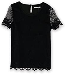 1501fe8b02bb Goodnight Macaroon Womens Fringed Lace Pullover Blouse