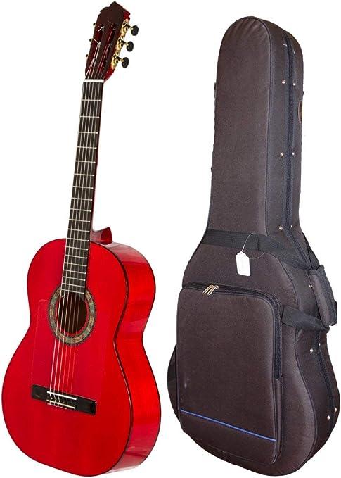 Guitarra Flamenca de ciprés rojo, hecha a de Barcelona a España: Amazon.es: Instrumentos musicales