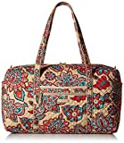 Vera Bradley Iconic Large Travel Duffel, Desert Floral, Desert Floral, One Size