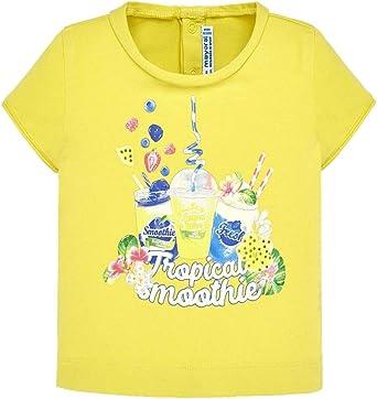 Mayoral Camiseta De Algodón para Niña, 12 Meses (80 Cm), Cedro ...