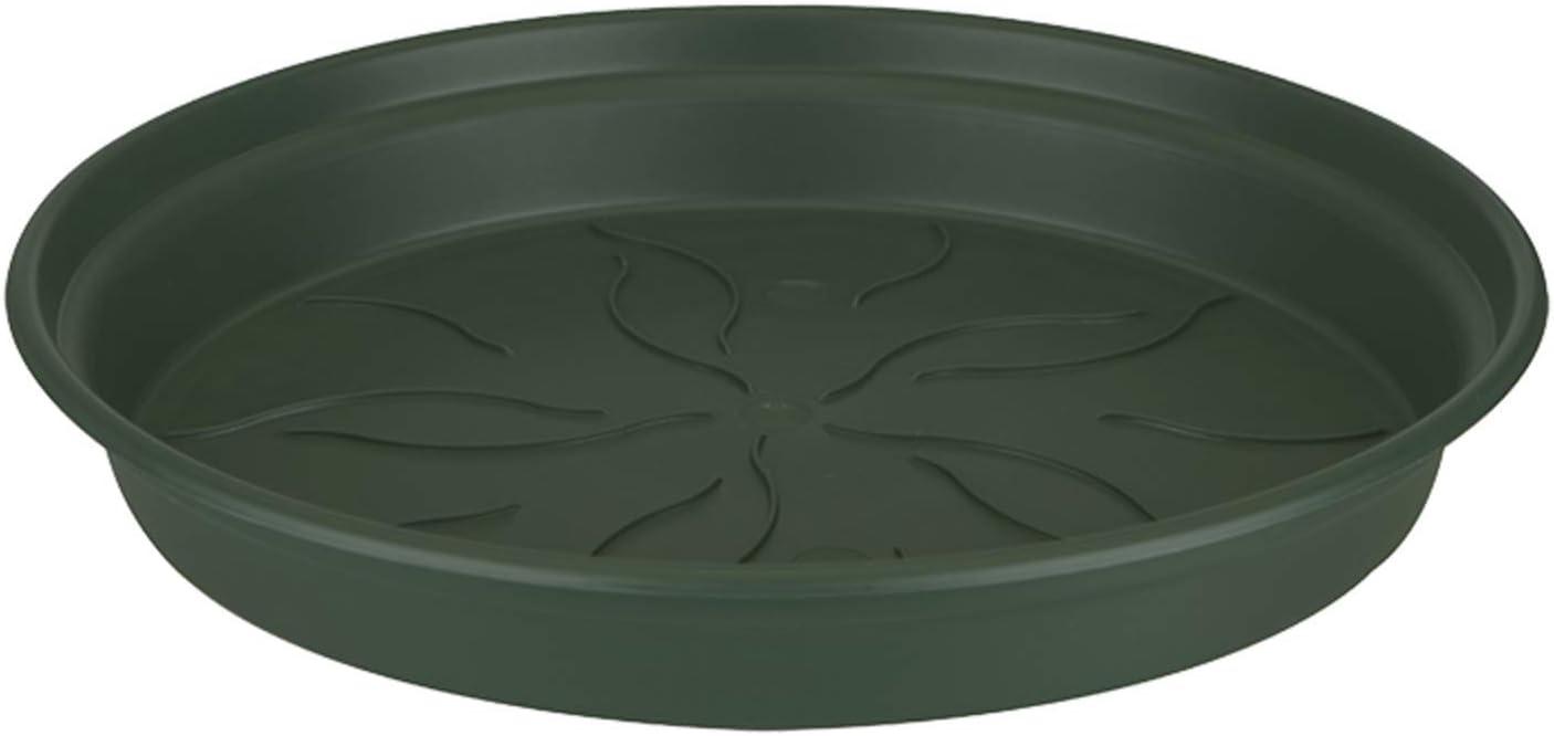 34X34X4,9 cm Verde Leaf elho Green Basics Saucer Plato