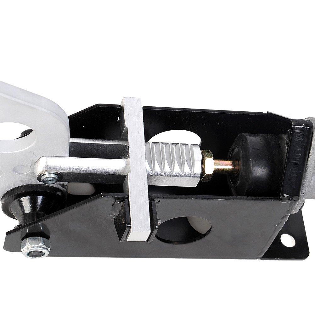 Sedeta/® Black Universal E-Brake Hydraulic Racing Handbrake Kit Tool Horizontal S14 AE86