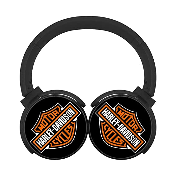 2046ddcd70b Image Unavailable. Image not available for. Color: Headphones Harley-Davidson  Bluetooth Headset Unisex Over-Head ...