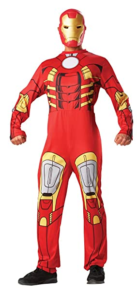 Rubbies - Disfraz de Iron Man para hombre, talla L (880944STD ...