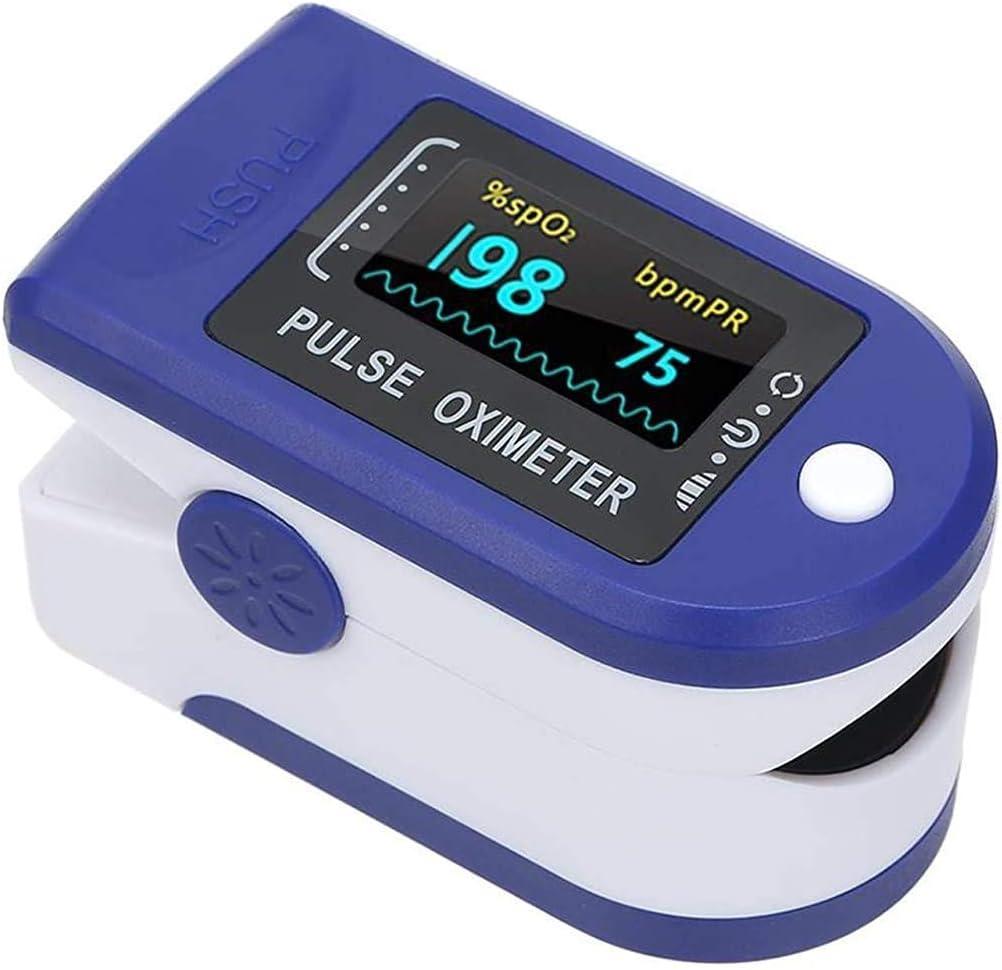 oxygen level on oximeter
