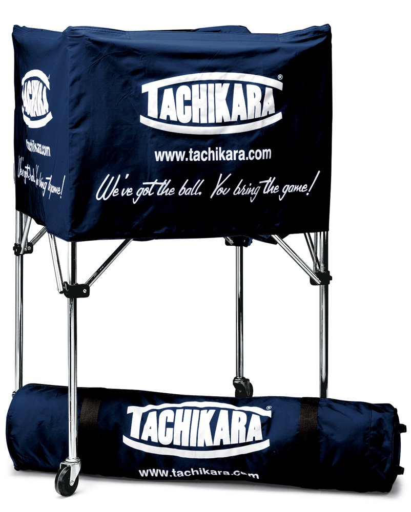 Tachikara Portable Ball Cart (Navy)
