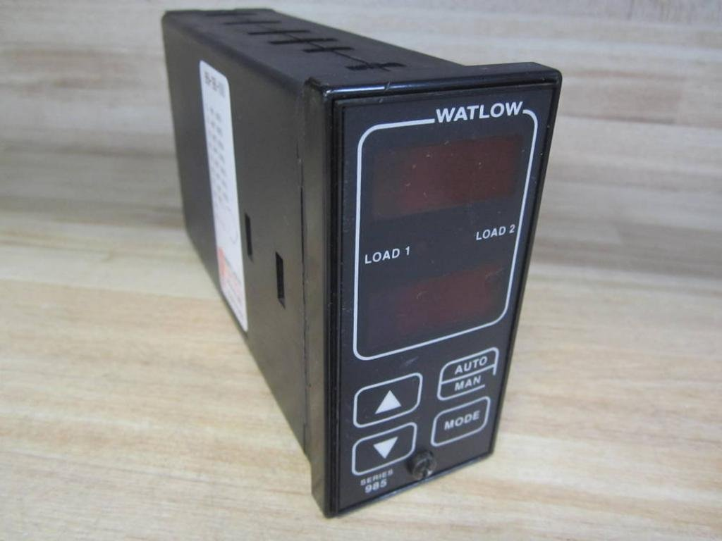 Watlow Controls 985a 1bb0 0000 Temperature Controller 985a1bb00000 Solid State Relay Industrial Scientific
